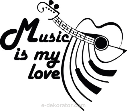 Music is my love - girata + pianino - kod ED145
