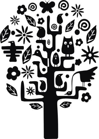 Leśne drzewko