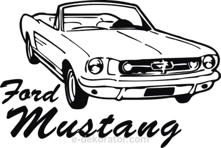 Ford Mustang GT - kod ED45